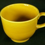 Fiesta yellow cup