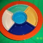 fiesta relish tray