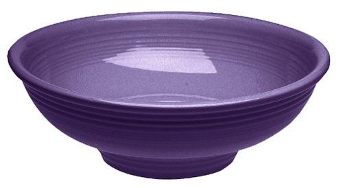 Fiesta 64-Ounce Pedestal Bowl, Plum