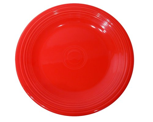 Fiesta 9-Inch Luncheon Plate, Scarlet