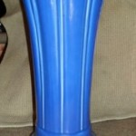 Fiesta Sapphire Vase